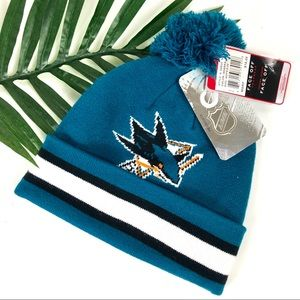 NHL San Jose Sharks Blue Hockey Beanie | OS
